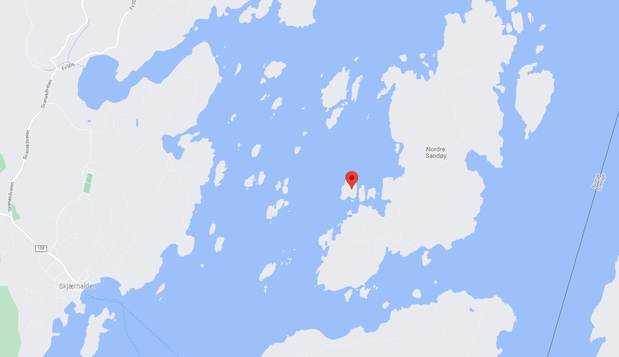 Kartbilde Andholmene - blogginnlegg Tips til tur i Hvalerskjærgården