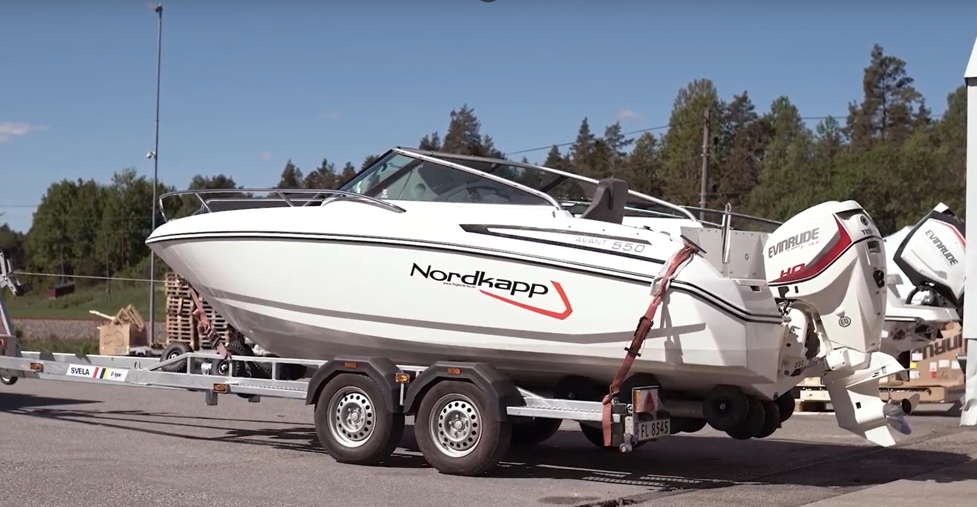 Transport av båt